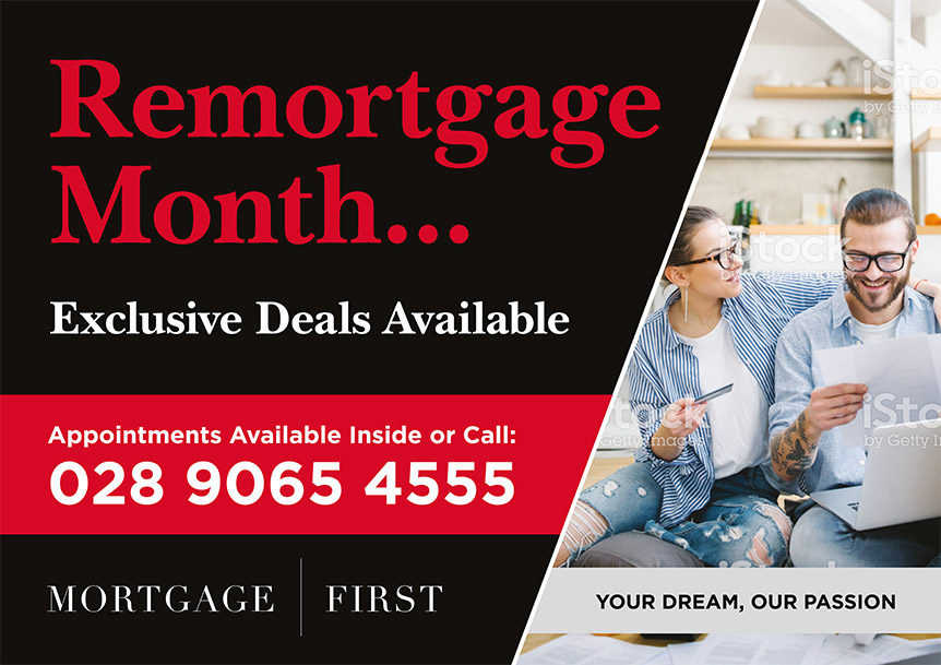 Remortgage Month - 15 April - A1 Poster